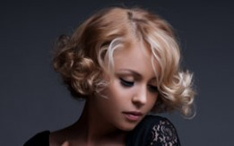 beautiful girl with styled hair representing paul michaels hair salon in anandale virginia